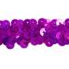 Sequin Stretch 2Row Hologram mauve/ Purple